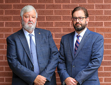 Chattanooga lawyers Richard W. Buhrman and John R. Buhrman, of Buhrman Law Firm, P.C.